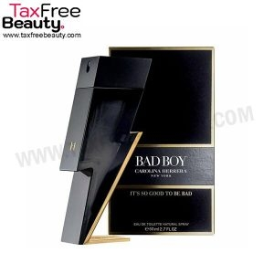 "קרולינה הררה באד בוי אדט לגבר 100 מ""ל  Carolina Herrera Bad Boy EDT 100ml"