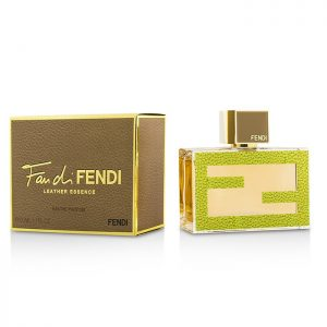 FENDI Fan Di Fendi Leather Essence Eau De Parfum Spray1.7 Ounce50ML, פנדי פאן פנדי להאטאר א.ד.פ.