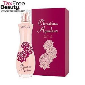 Christina Aguilera Touch Of Seduction 100 Ml Eau De Parfum Original, כריסטינה אגילרה טאוצ' אוף סדוקשיון אוריגינל א.ד.פ.