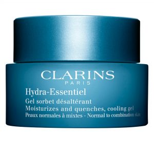 CLARINS H-E Moisturizes and quenches cooling del,  קלארינס קרם לחות ומרווה קירור דל