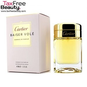 Cartier Baiser Vole Essence De Parfum Spray 40ml/1.3oz, קארטיאר באיסר וולה אסנס דה פרפיום