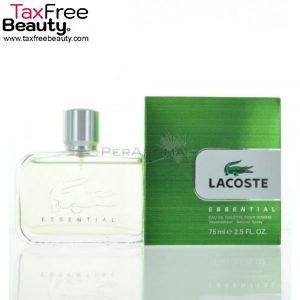 """Lacoste Essential EDT 75 ML לקוסט אסנסיאל אדט 75 מ""""ל בושם לגברים"""