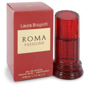 Laura Biagiotti Roma Passione Perfume by Laura Biagiotti 50 Ml EDT Spay for Women, לאורה ביאג'יוטי רומא פסיאון