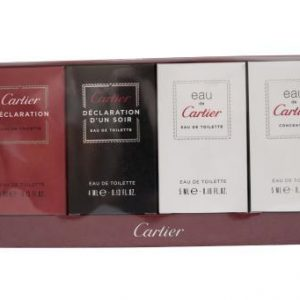 Cartier 4 Piece Feminine Miniatures Gift Set