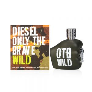 Diesel Eau De Toilette Spray for Men, Only The Brave Wild, 2.5 Ounce, דיזל לגברים