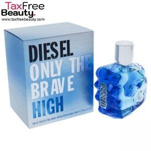 "Diesel Only the Brave High Cologne by Diesel 75 Ml EDT Spay for Men דיזל אונלי דה ברייב 75 מ""לבושם לגבר"