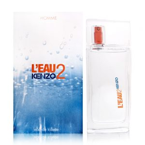 """L'Eau 2 Kenzo Homme Eau De Toilette Spray 100ml קנזו או דה טואלט 100 מ""""ל"""
