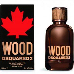 Dsquared2 Wood Pour Homme 100 ML Eau De Toilette, דסקווארד2 וואד