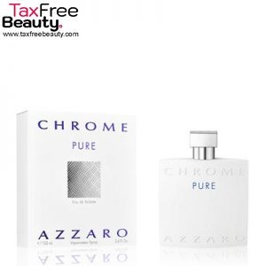 Azzaro Chrome Pure Eau De Toilette, 100 ML, אזארו כרום פיור