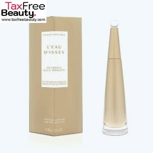 """Issey miyake L'eau D'issey Gold Absolute By Issey Miyake For Women Eau De Parfum Spray 50 ML  (Limited Edition) איסי מיאקי לאישה א.ד.פ 50 מ""""ל"""