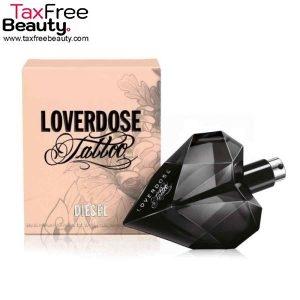"Diesel Loverdose Tattoo For Women 50ML EDP Spray דיזל לוברדוז טאטו בושם לאישה 50 מ""ל או דה פרפיום"