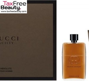 Gucci Guilty Absolute 3 Pcs Set For Men: EDP 90 ML+150 ML Shower Gel+50 ML Aftershave Balm גוצ'י סט