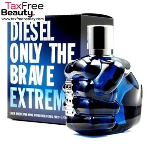 "Diesel Only The Brave Extreme 50ml Eau De Toilette Edt & Cello Sealed דיזל או דה טואלט 50 מ""ל"