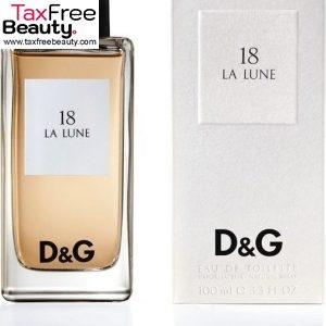 Dolce & Gabbana 18 La Lune Women's 100 ML Eau de Toilette Spray, דולצ'ה וגבאנה 18 לה לונה