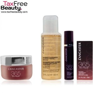 Lancaster 365 Skin Repair Set Day Cream 50ml + Repair Serum 10ml + Eye Serum 3ml + Cleanser 100ml לנקסטר איפור סט
