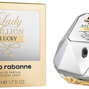 Paco Rabanne Lady Million Lucky Eau De Parfum Spray 50ml, פאקו רבאן ליידי מיליון לאקי