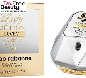 "Paco Rabanne Lady Million Lucky Eau De Parfum Spray 50ml פאקו רבאן ליידי מיליון לאקי אדפ 50 מ""ל"