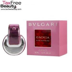 Bvlgari Omnia Pink Sapphire Eau De Toilette 65ml-בולגרי אומניה פינק ספיר א.ד.ט