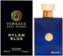 Versace Dylan Blue For Men Eau De Toilette 100ml בושם ורסאצ'ה דילן בלו לגבר א.ד.ט
