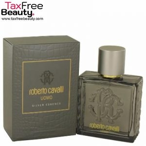 Roberto Cavalli Uomo Silver Essence Eau De Toilette Spray 100ml, רוברטו קאוולי אוהומו סילבר אסנס
