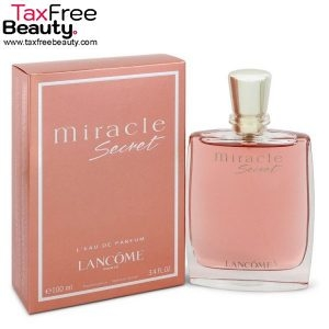 "Lancome Miracle Secret E.D.P 100ml for women לנקום בושם לאישה 100 מ""ל"