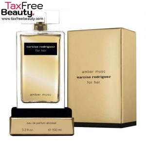 Narciso Rodriguez Amber Musc For Her Eau De Parfum For Women 100 ML נרסיסו רודריגז אמבר מאסק או דה פרפיום בושם לאישה