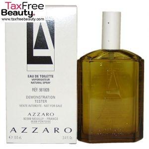 TESTER Azzaro pour HOMME EDT 100 ML, אזארו לגבר טסטר
