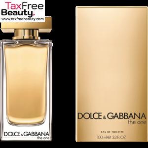 Dolce & Gabbana The one 100ML EDT , דולצ'ה וגבאנה דה אוון
