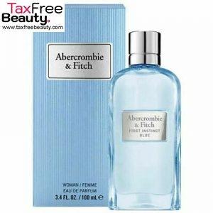 ABERCROMBIE & FITCH First Instinct Blue Perfume 100 ML EDP for Women אברקומבי אינסטינקט בלו בוושם לאישה