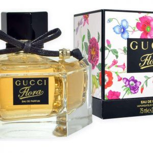 "Gucci Flora Eau de Parfum Spray 75ml Women's Black & Floral גוצ'י פלורה א.ד.פ 75 מ""ל"