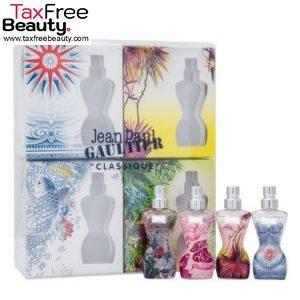Jean Paul Gaultier Classique Eau D'Ete Summer Fragrance Miniatures 4 Piece Mini Gift Set (Pack Of 3)