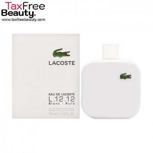 "Lacoste Eau De Lacoste Blanc L.12.12 E.D.T 100ml לקוסט או דה לקוסט בלאנק אדט לגבר 100 מ""ל"