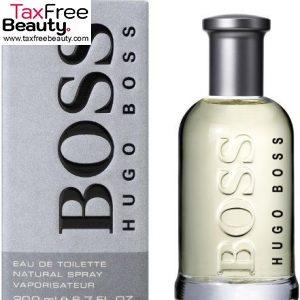 "Hugo Boss Bottled Edt 200 Ml הוגו בוס לגבר 200 מ""ל"
