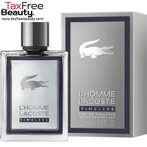 Lacoste L'Homme Timeless 100 ML EDT Men's Spray בושם לגבר 100 מל או דה טואלט