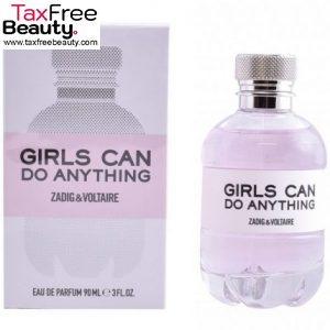 """Zadig & Voltaire Girls Can Do Anything Edp 90 ML זדיג וולטייר קאן דו אניטינג' א.ד.פ 90 מ""""ל בושם לאישה"""