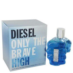 "Diesel Only the Brave High Cologne 125 Ml EDT Spay for Men אונלי דה ברייב היי אדט לגבר 125 מ""ל  דיזל"