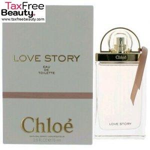 "Chloe Love Story 75ml Eau De Toilette Chloe For Women קלאוה לוב סטורי בושם 75 מ""ללאישה 75 מ""ל"