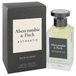 Abercrombie & Fitch Authentic by Abercrombie & Fitch Eau De Toilette Spray 100 ML Men אברקומבי או דה טואלט לגבר