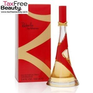 """Rihanna Rebelle Eau De Parfum Spray for Women 100 ML בושם ריאהנה או דה פרפיום לאישה 100 מ""""ל"""