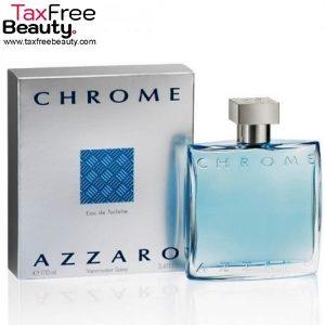 "Azzaro Chrome Men's 100 ML Eau de Toilette Spray אזארו כרום 100 מ""ל א.ד.ט לגבר"