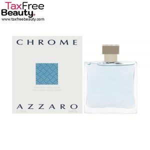 "Azzaro Chrome Aftershave 100ml אפטר שייב אזרו קרום  100 מ""ל"