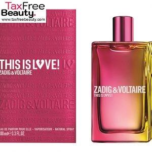 Zadig & Voltaire This Is Love! Pour Elle Eau De Toilette 100ml