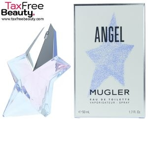 """Thierry Mugler Angel Eau De Toilette Spray 50ml טיירי מוגלר אנג'ל אדט לאישה 50 מ""""ל"""