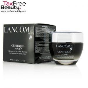 "Lancome 50 ML Genifique Repair Youth Activating Night Cream לנקום 50 מ""ל קרם לילה"