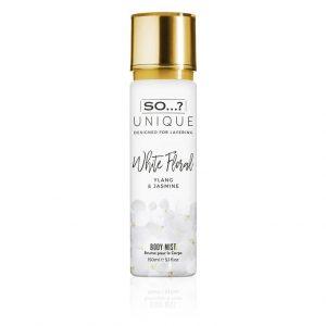 "SO Unique White Floral Mist 150ml Body Mist מי גוף 150 מ""ל"