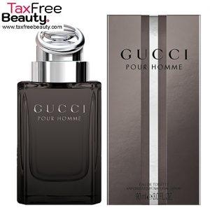 "Gucci Pour Homme Edt 90 Ml גוצ'י פור הום או דה טואלט 90 מ""ל בושם לגבר"
