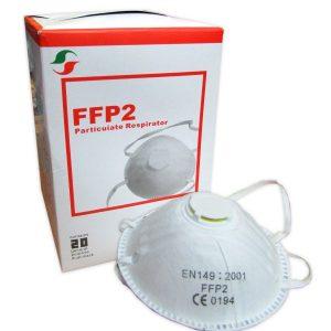FFP2  מסכת הנשמה Respirator Mask יחידה אחת