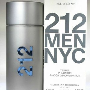 212 TESTER  CAROLINA HERRERA for MEN EDT 100ml
