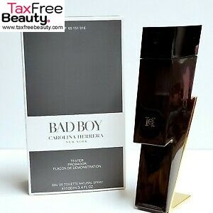 Bad Boy by Carolina Herrera for Men 3.4 oz Eau de Toilette Spray (Tester)