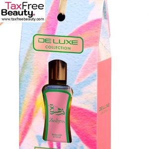 De Luxe Zahra Roll On Perfume Oil 24ml Hamidi רול בשמי שמן חמידי
